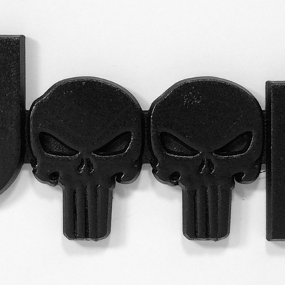 Cuz it's Custom 2.5D Punisher Skulls (JK OEM)