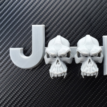 Evil Monkey Skulls (JK OEM)