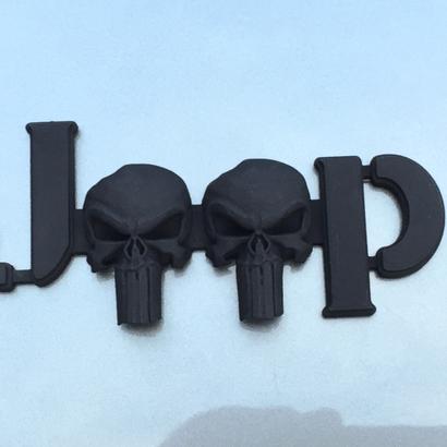 Cuz it's Custom 3D Punisher Skulls-JK Willys