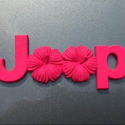 Island Flowers Emblem (JK OEM)