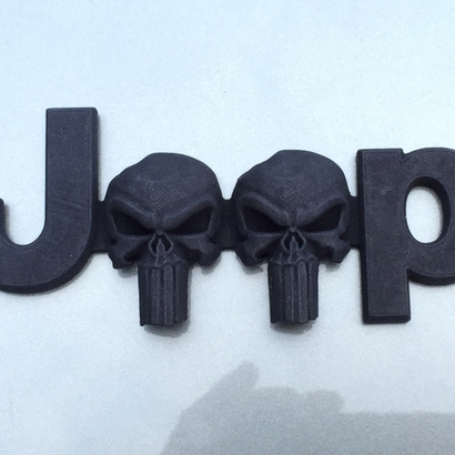 Cuz it's Custom 3D Punisher Skulls-JK OEM