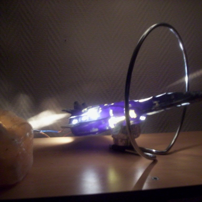 Spaceship Lampe 1