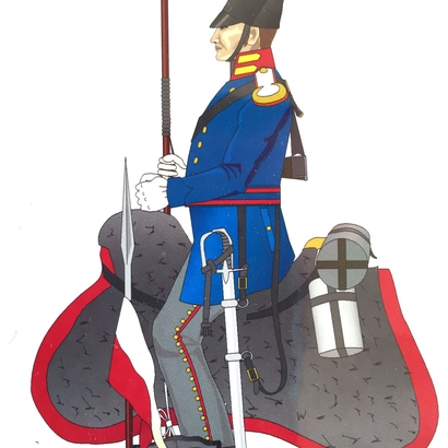 Selle Prussien Hussar Playmobil