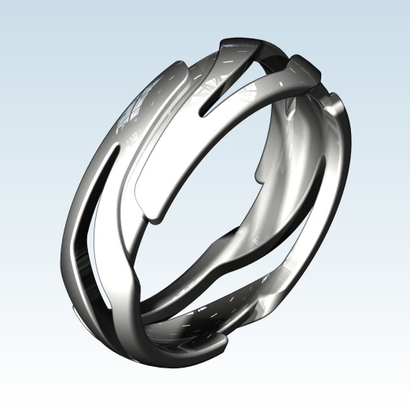 silver together in printed and the jewelry primal come ring crafts printing advanced rings ancient
