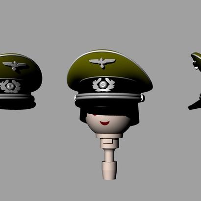 GERMAN WW2 CAP X2