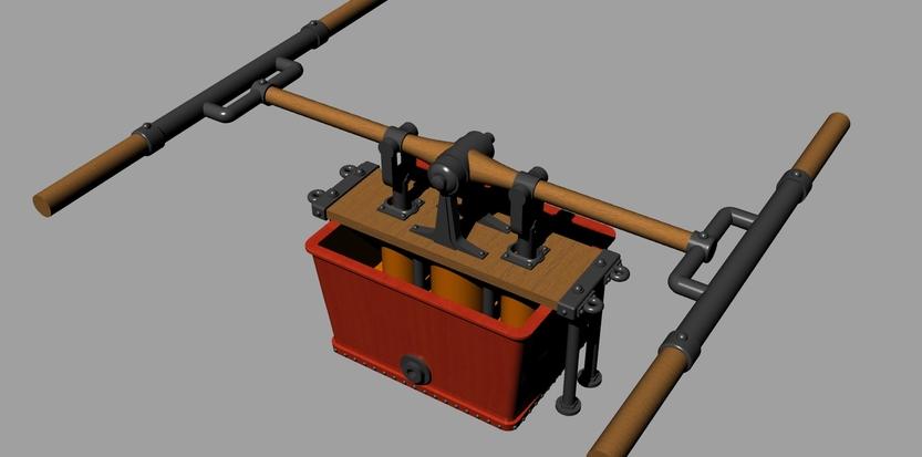 pompe a bras 1 3d printing design 3d printing model. Black Bedroom Furniture Sets. Home Design Ideas