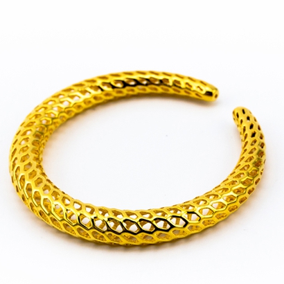 Dragontail Bracelet Thin d=65mm.STL