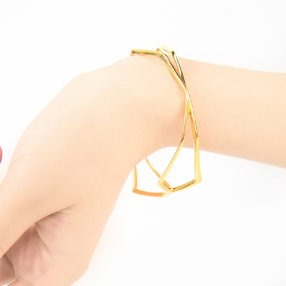 """""""HIDDEN HEART"""" Sharp Bracelet d=65mm"""