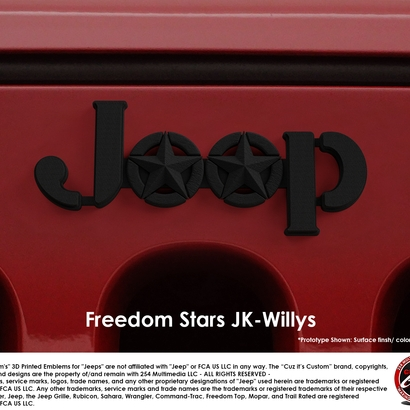 Freedom Stars (JK Willys)