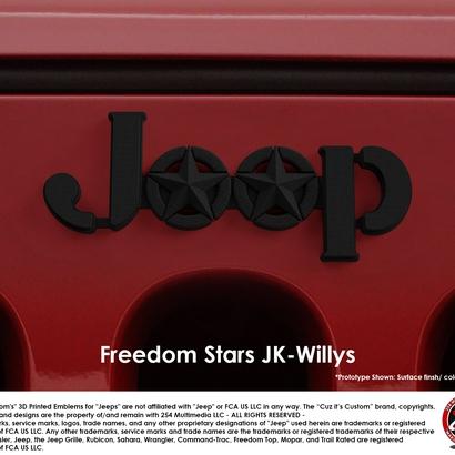 Freedom Stars (JK Willys)
