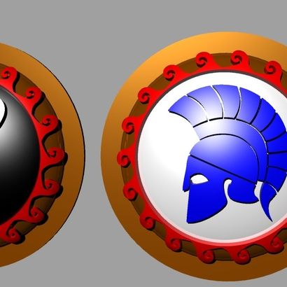 HOPLITE SHIELDS owl helmet
