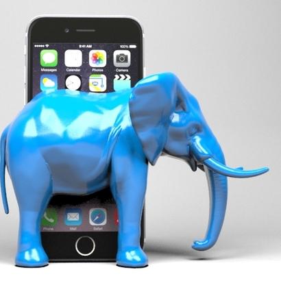 Support de téléphone Elephant