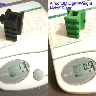 12mm 4 Slots Picatinny Riser