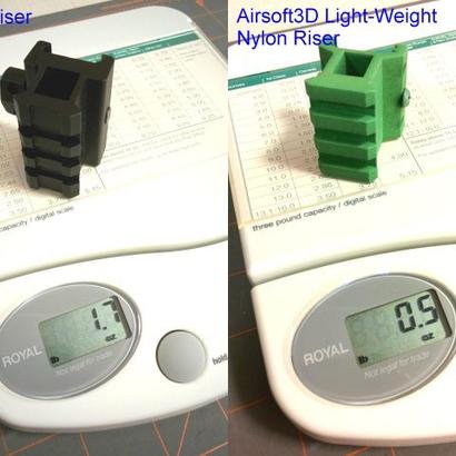 25.4mm 3 Slots Picatinny Riser
