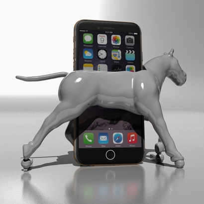 Support de téléphone Horse