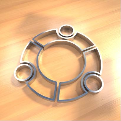 Ubuntu cookies cutter