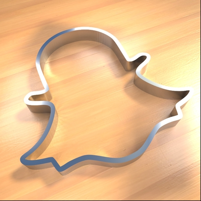 Snapchat cookies cutter
