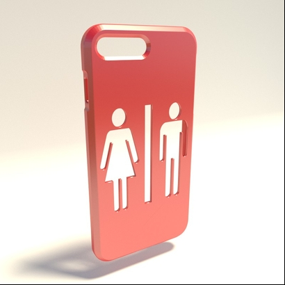 Coque Iphone 7 Plus WC