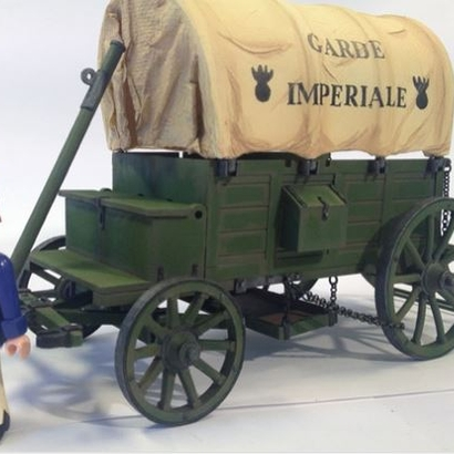 Gribeauval french supply wagon 1er Empire Playmobil