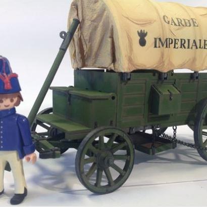 Fourgon régimentaire Gribeauval Playmobil