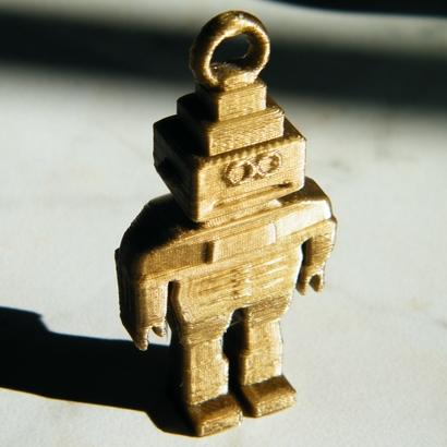 keychain robot