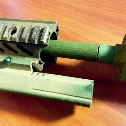 100mm 14mm+ External Barrel Extension