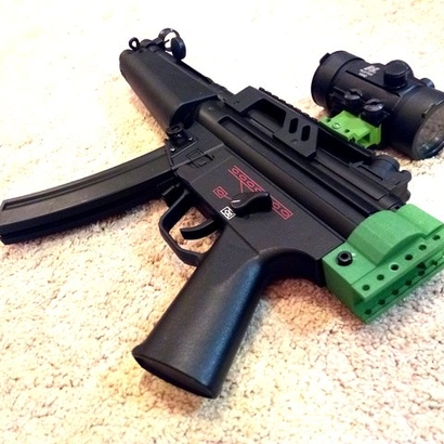 MP5 Receiver Picatinny Mount Adapter