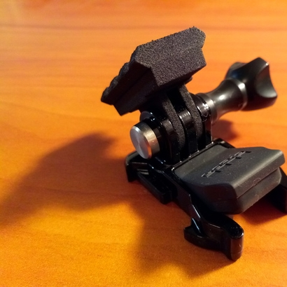 Picatinny Rail to GoPro Mount Adapter (Forward Tilting)