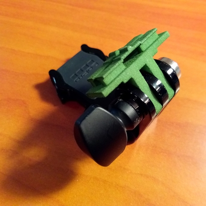 Contour Cam to GoPro Mount Adapter (Side Tilting)