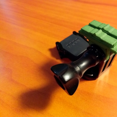 Contour Cam to GoPro Mount Adapter (Forward Tilting)