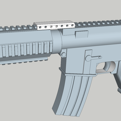 M4 Quad Rail Stabilizer