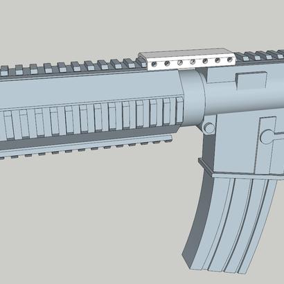 M4 Quad Rail Stabilizer