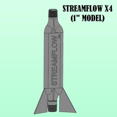 """STREAMFLOW X4 - 1"""" Vortex Generator"""