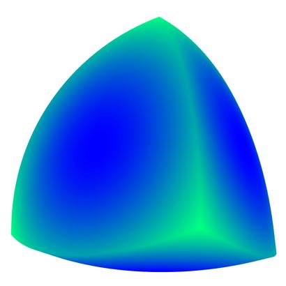 Convex Reuleaux tetrahedron
