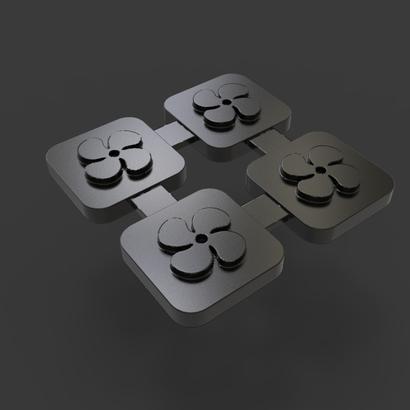Picto de bloc de ventilation pour PORSCHE 911 type G modèle 3.2