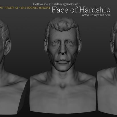 Face of Hardship