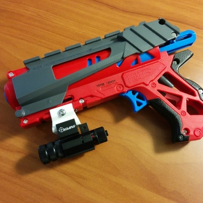 Nerf to Picatinny Adapter (2 Slots)