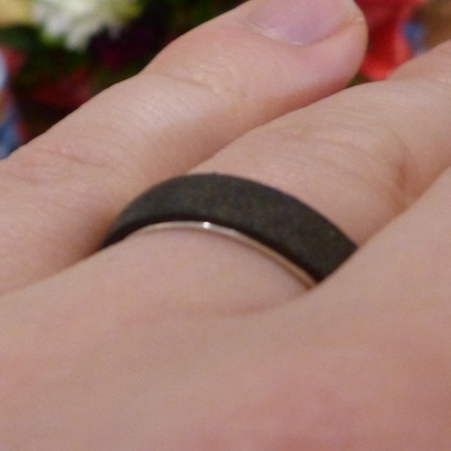 Outer ring for DIY bicolor ring