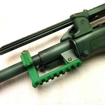 AUG Barrel Stabilizer with Rails