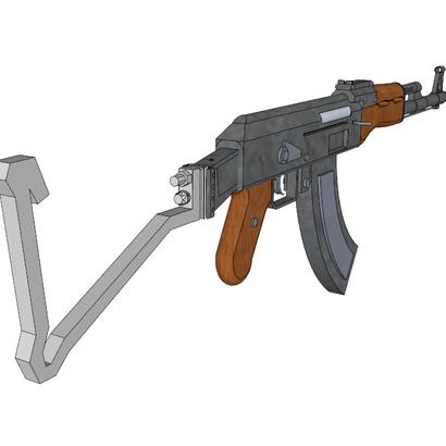 Semi-Auto Sniper Shoulder Stock