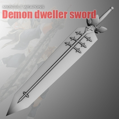 Demon Dweller Sword
