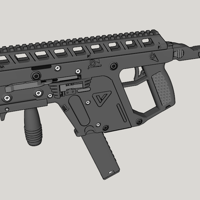 Full Length Top Rail Riser for Kriss Vector