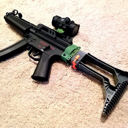 MP5 AEG Receiver Picatinny Mount Adapter