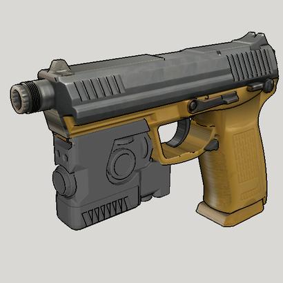 MK 23 Laser Aiming Module (LAM) - Mock Version