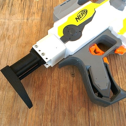 Nerf Receiver Picatinny Mount Adapter (Short)
