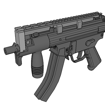 MP5K Air Gun Front Sight Replacement