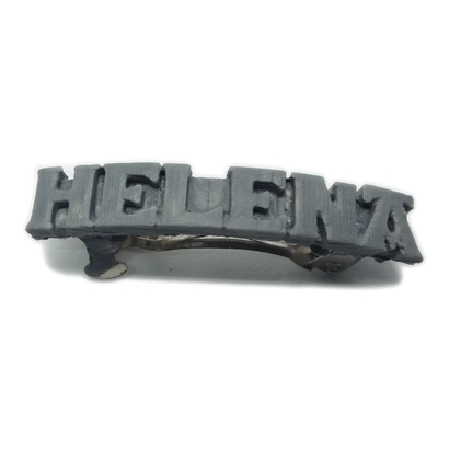 HELENA Personalized Hair Barrete 40-45