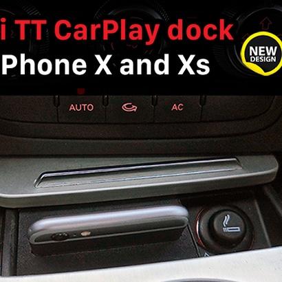 Audi TT CarPlay dock for iPhone X/XS