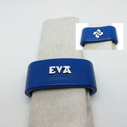 EVA 3D Napkin Ring with lauburu