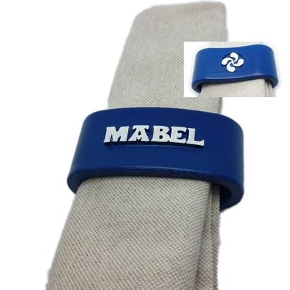 MABEL 3D Napkin Ring with lauburu